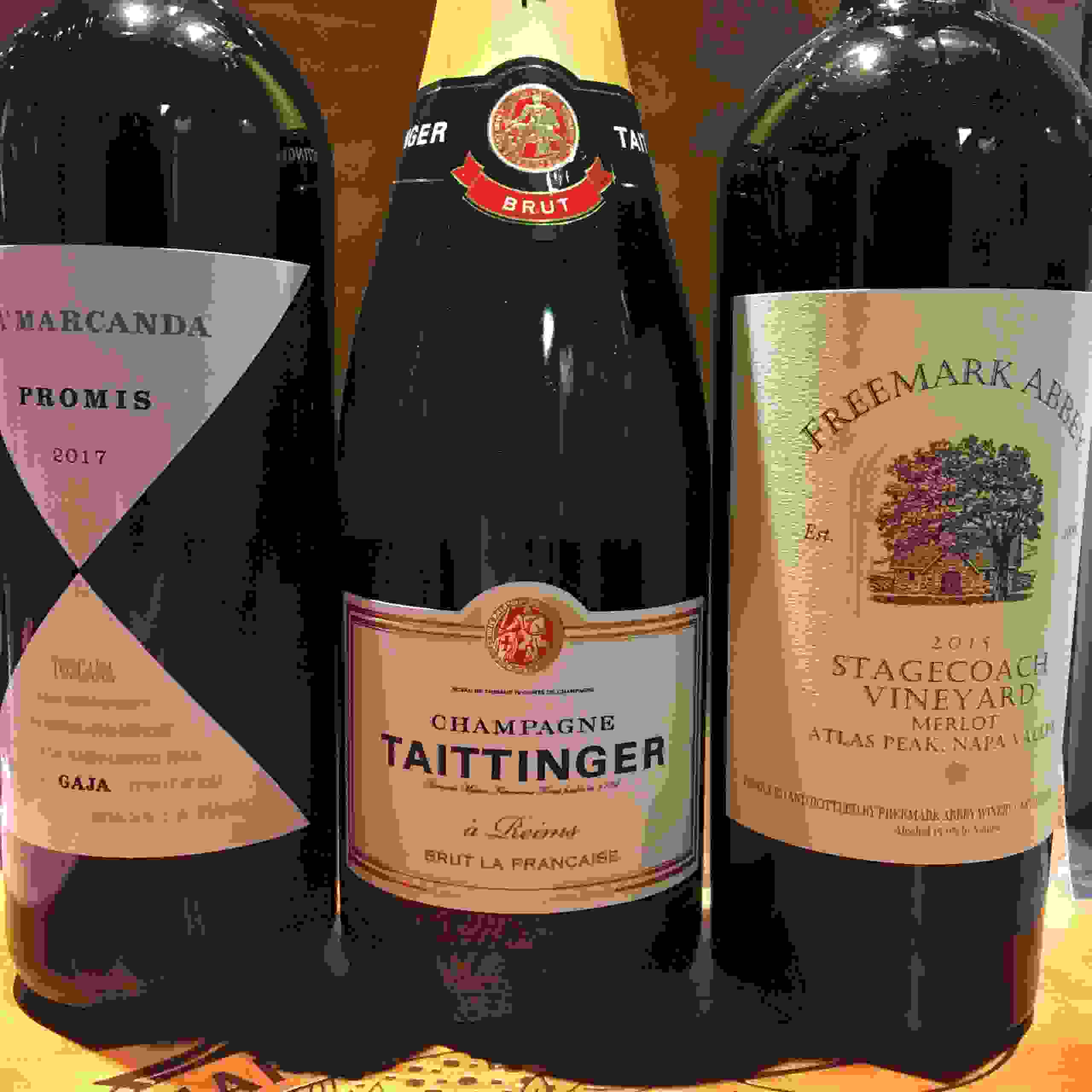 98110 Best wine store shop bainbridge gobble gobble Gaja Taittinger Freemark abbey