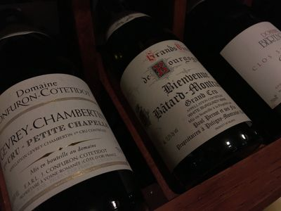 Harbor Square Wine Shop Bainbridge Island Grand Cru Burgundy Batard,  Gevrey - Chambertin, Clos St.
