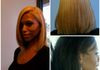 Blonding Before & After