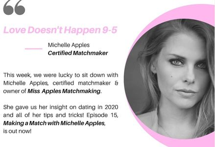 I sat down with the Lovers & Losers Podcast and discuss all things Matchmaking, and dating in 2020