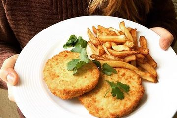 100% plant-based fish alternative from Novish. These tasty fish burgers are cruelty free,  healthy f