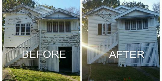 before and after, prescott home improvement, prescott painting usa painters