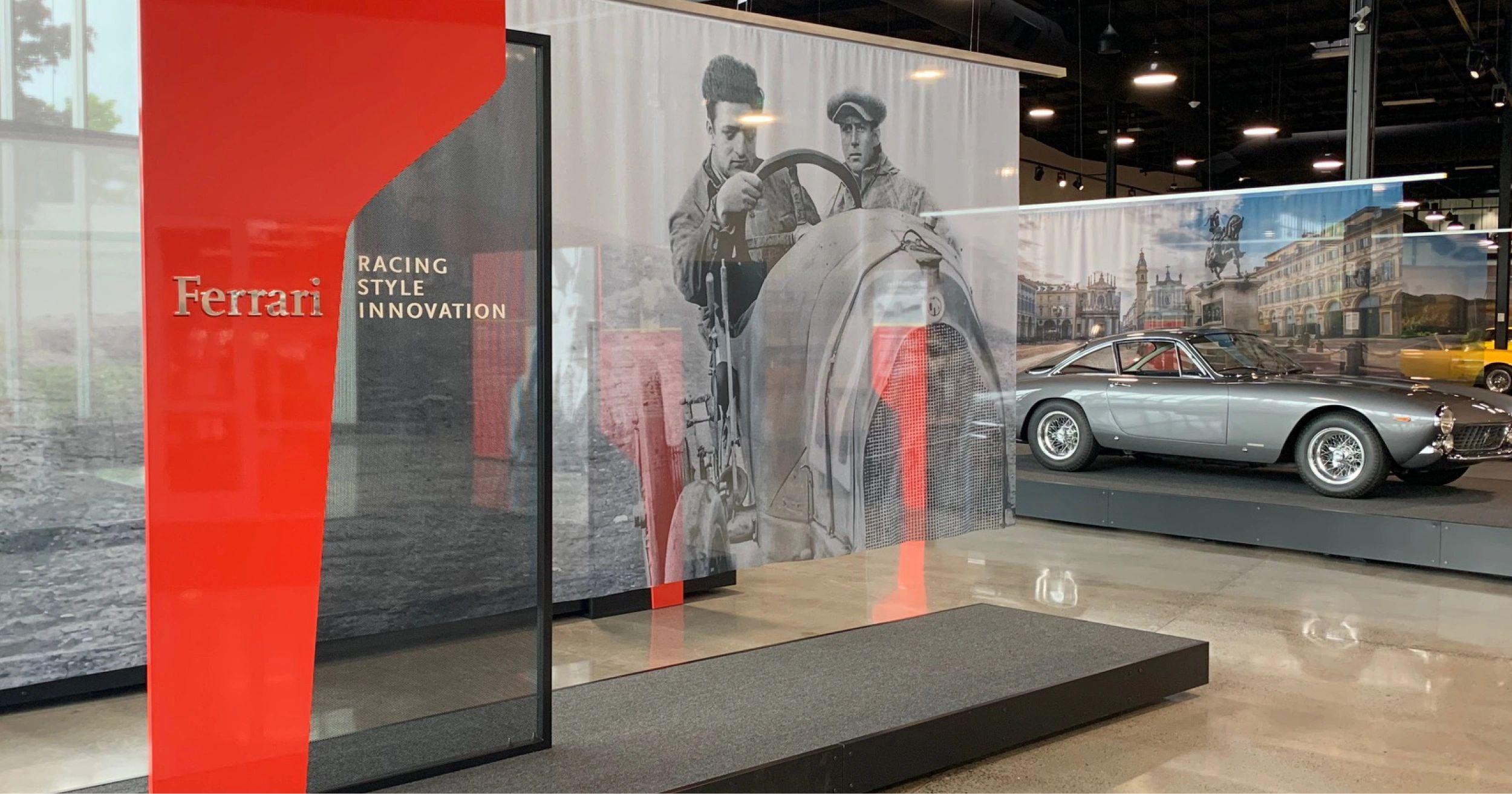 Ferrari Mike Bellinger Art Direction Design