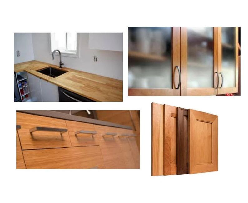 Cabinet doors and drawer fronts.