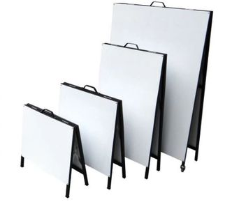 metal a frame sandwich boards many different sizes