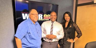 David Steele of Sporting News, Harold T. Fisher of WHUR and Kelsey Nicole Nelson of Fox Sports Radio