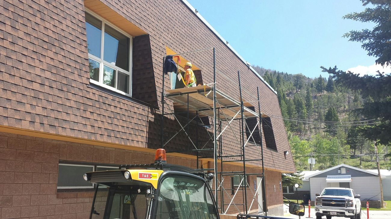 Window replacement at Anaconda Job Corps