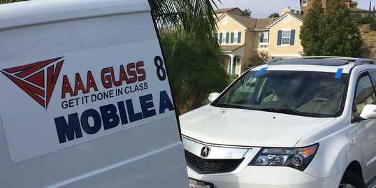 La Jolla Del Mar AAA GLASS - Acura windshield replacement