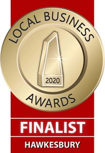 We are a Finalist in the Local Business Awards for 'New Business'