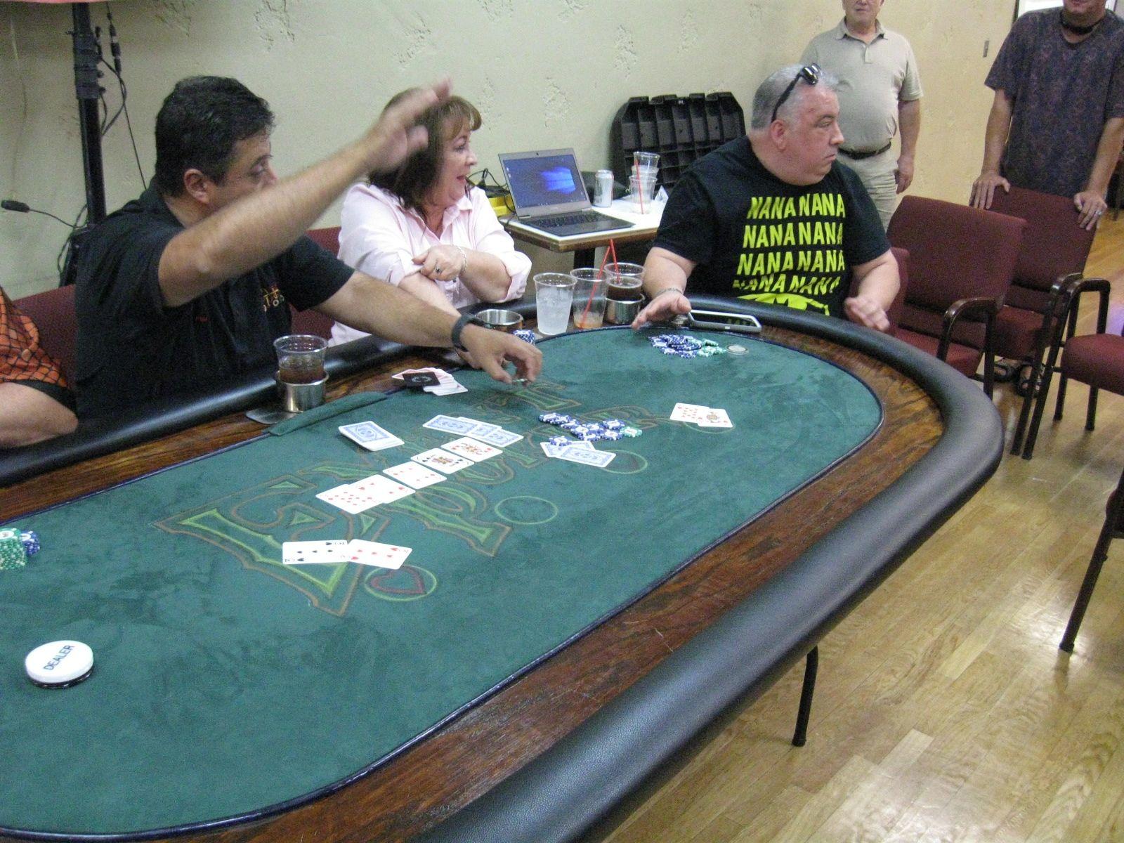 Leaderboard Event Poker