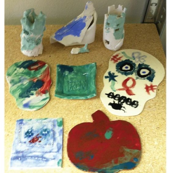 Clay projects from Intro to Clay