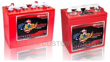 Golf cart batteries, US Batteries, US batteries Red Deer