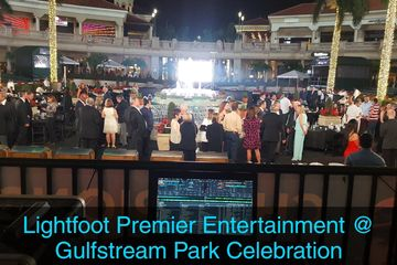 Lightfoot Premier Entertainment DJ's and Event Planning Corporate Party Gulfstream park