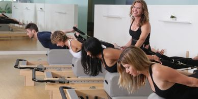 Pilates in Beverly Hills, California. Strengthen your core, posture and overall health.