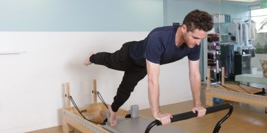 Private Pilates Sessions for all body types. Professional mountaineer Dimitri Kermani