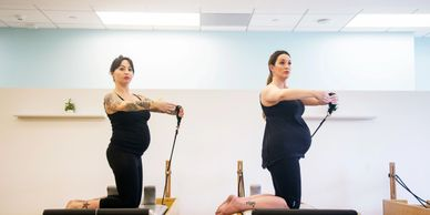 Private Pilates Sessions for pre-post natal women. Pregnancy Pilates. Pilates while pregnant.