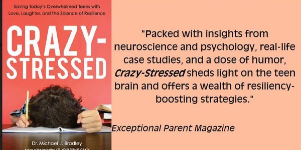 Book: Crazy Stressed, Saving Today's Overwhelmed Teens