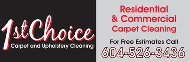 1st Choice Carpet Cleaning
