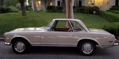pagoda mercedes benz slclass sl230 SL picturecar moviecar 1966 w113 rental picture car film tv movie