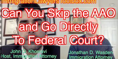 Can You Skip the AAO and Go Directly To Federal Court?