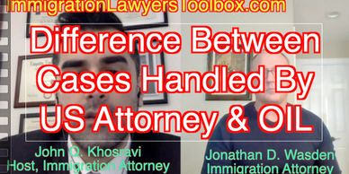 Difference Between Cases Handled By OIL and the US Attorney
