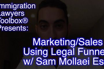 Interview w/ Sam Mollaei about Legal Funnels for Law Firm Marketing and Sales