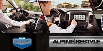 Alpine car audio and Restyle