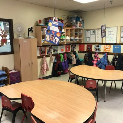 Classroom at Formative Years Growing & Learning Center.