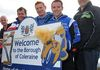 Design launch of road sign to secure legacy of road racing event NW200. Tara Cunningham