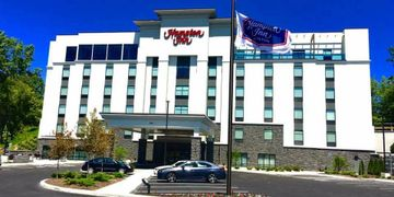 Hampton Inn Penfield New York. Where Vibe provided a complete Hospitality Technology package.