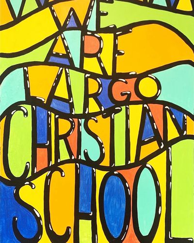We are Largo Christian School Painting
