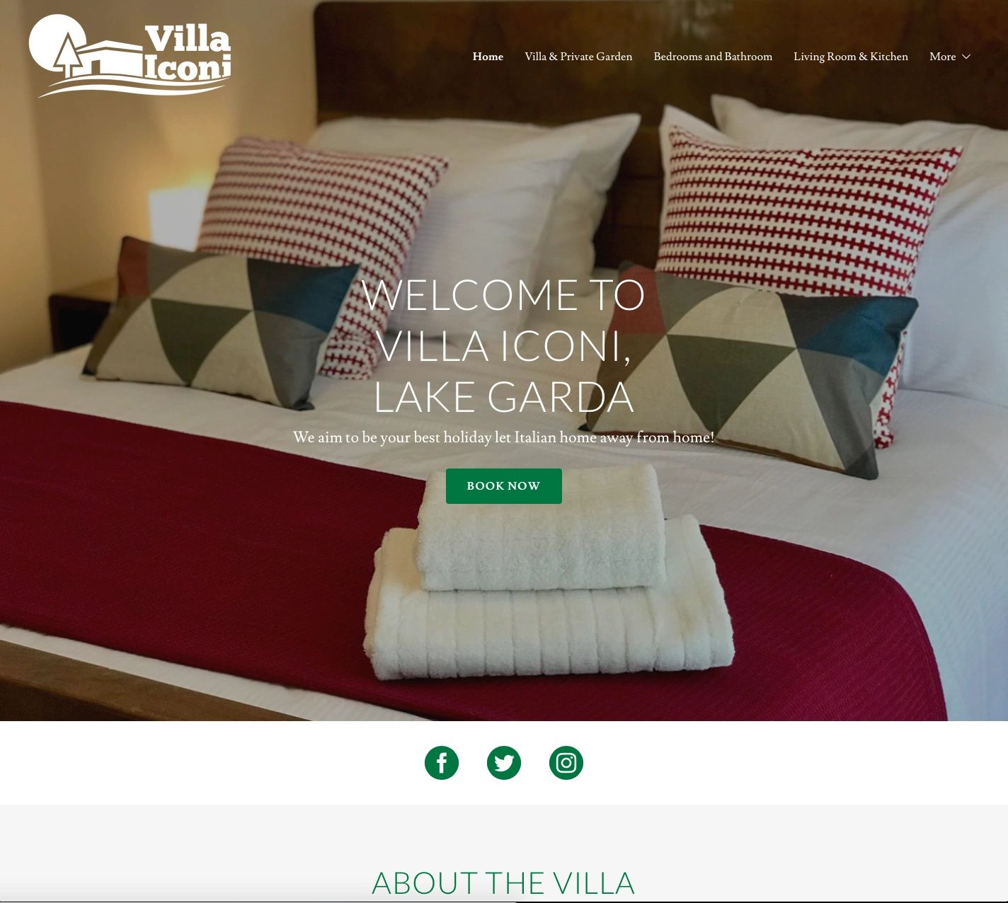 Villa Iconi aims to be the best Italian holiday-let home away from home.