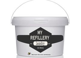 My refillery natural laundry powder
