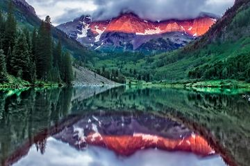 """Maroon Bells"" - limited edition fine art photograph"