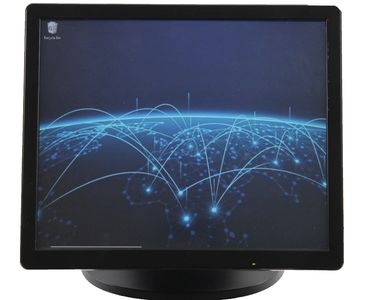 "17"" 5 Wire Touch Screen Display"