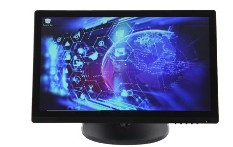 "22"" 5 Wire Resistive Touch Screen Display"