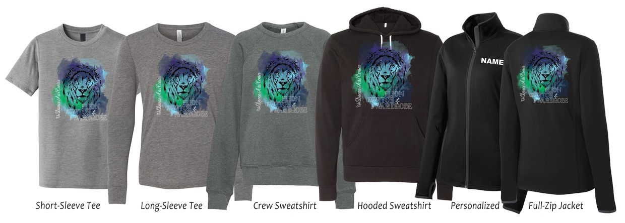 The Lion, The Witch, and The Wardrobe T-shirts, Sweatshirts, and Jackets for sale.