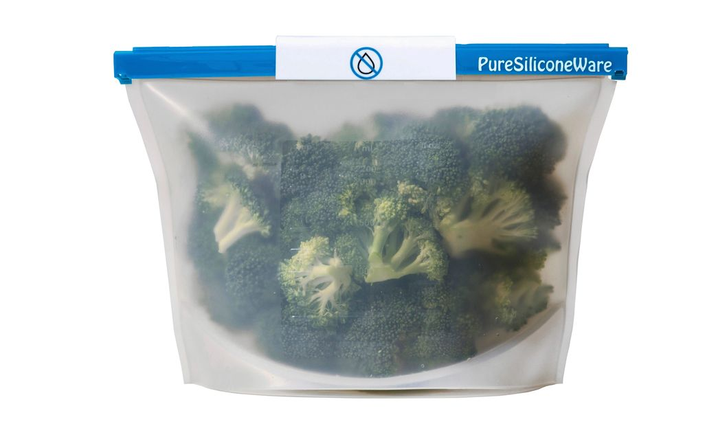 PureSiliconeware silicone freezer bags