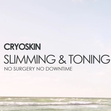 Slim, tone, firm, eliminate fat, destroy cellulite, firm and lift face all with CryoSkin treatments.