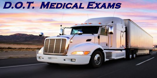 Certified DOT Medical Exams