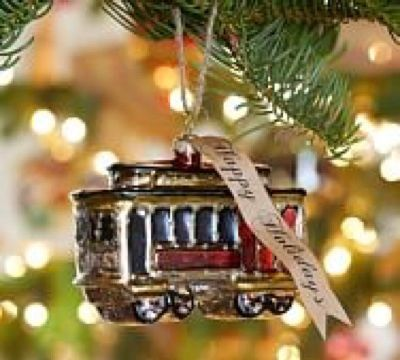 Holiday Trolley Ornament