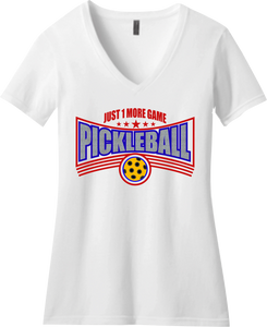 Love Pickleball? So do I! We have a variety of men's and ladies Tees and visors...