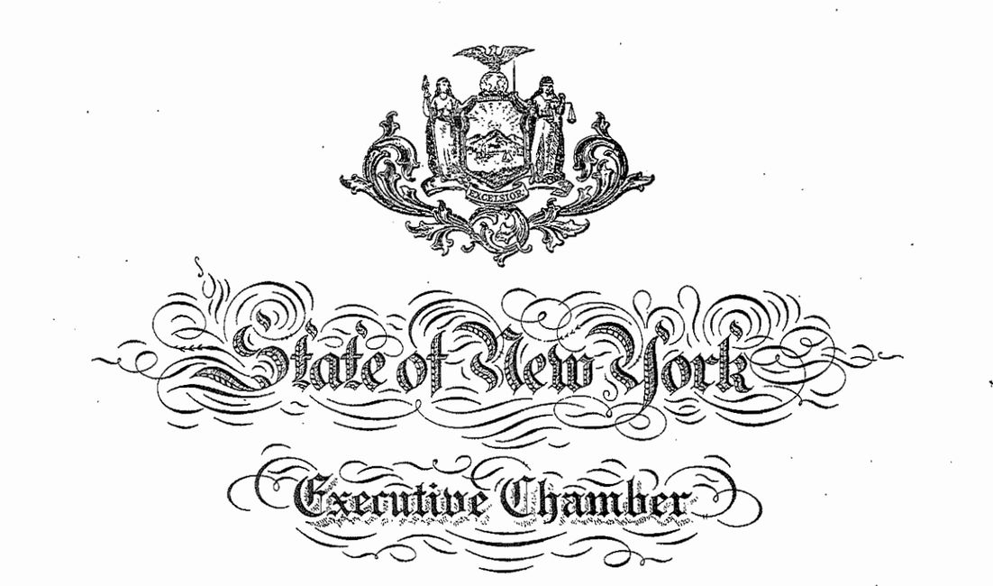 State of New York Executive Order