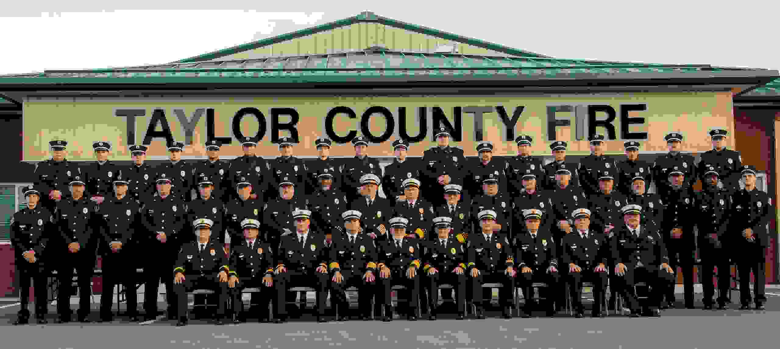Taylor County Fire Department photo