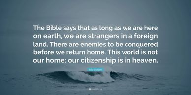 Bible say about citizenship?