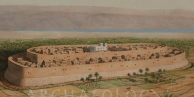 The city of Jericho., bible times.