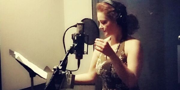 "Recording in LA for the soundtrack of ""The Secret of Joy"" film short directed by Max Bartoli."