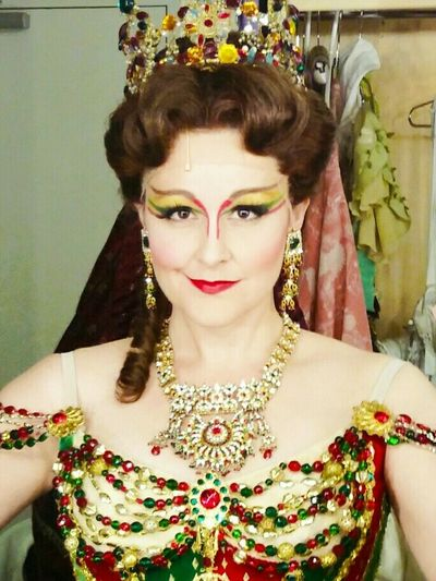 Carlotta in The Phantom of The Opera North American Tour.