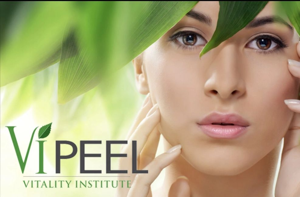 women clear skin after getting a  vipeel facial  for anti-aging    melasma skin and pigmentation