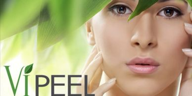 women clear skin after getting a  vipeel facial  for anti-aging  and  melasma skin